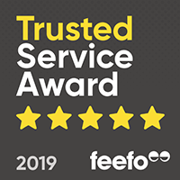 Feefo Trusted Service 2019