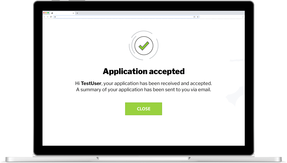 Four steps to a successful application